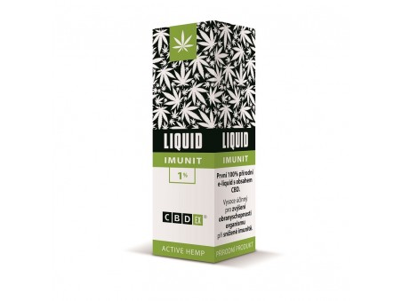 CBD e-liquid Imunit CBDex 1% 10ml