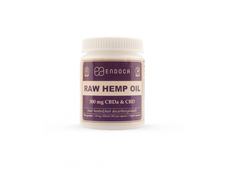 RAW CBD kapsle Endoca