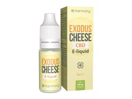 CBD e-liquid Exodus Cheese Harmony