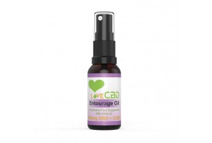 CBD sprej Entourage - Love CBD 20 ML